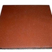 Квадратная однотонная плитка PlayMix кирпичи для лестниц фото