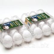Упаковка на 12 яиц 53-73 гр. из r-pet фото