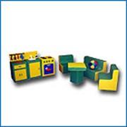 Комплект мягкой детской игровой мебели фото