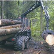 Машина МТПЛ-5-11 для погрузки и вывозки древесины фото