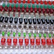 Решетки окрашенных СИД. фото