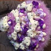 Букеты искусственных цветов в Алматы фото
