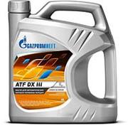 Gazpromneft ATF DX III (4л) трансм. для АКПП фото