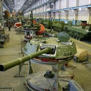 Производство запасных частей к военной технике. фото