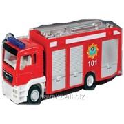 Детская игрушечная модель машинки IDEAL MAN KAZAKHSTAN FIRE TRUCK 1:43 фото