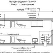 Прицеп-фургон Северянин 1.03