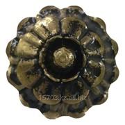 Изделие из металла цветок WH-6208 d 85, артикул 10530 фото