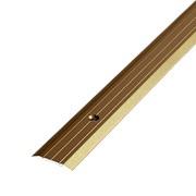 ЛУКА Порог стыкоперекрывающий ПС 01-900-04 бронза (0,9м) 25мм фото