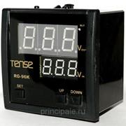 Вольтметр щитовой TENSE 2 значения 96х96 фото