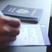 Оформление визы в США фото