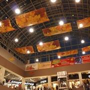 Оформление торгового центра к осени фото