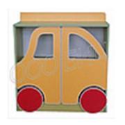 Стеллаж для пособий и игрушек Машина фото
