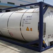 Танк контейнер T11 для перевозки опасных химических веществ. фото