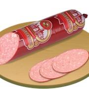 Колбаса полукопчёная Салями Венская фото