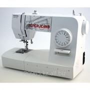 Электромеханическая швейная машина TOYOTA SUPER Jeans 15 (белая) фото