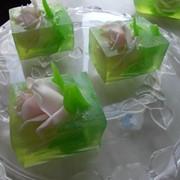 Мыло «Бутоны роз». Брикет фото