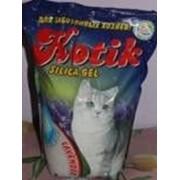 Силикагелевый наполнитель Kotik с запахом лаванды 5 л. фото