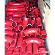 Углы, колена бетоновода для бетононасосов фото