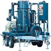 Станция маслянная мобильная УВМ 6/14 для очистки от механических примесей и термовакуумной очистки от воды и газов. Дегазация трансформаторных масел фото