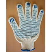 Перчатки от порезов и проколов 5-ти нитка с ПВХ фото