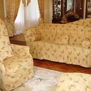 Чехлы на мягкую мебель для дома и кафе