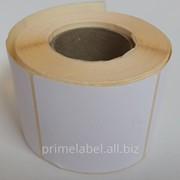 Термоэтикетки 58х60, 400 этикеток в роле фото