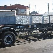 Двухосный BDFприцеп Kogel бу фото