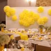 Декорирование свадебного зала, фотография
