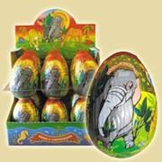 Яйцо Животный мир, 90г. с/с 4*12 фото