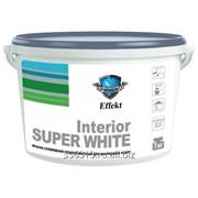 Краска «Interior» супербелая глубоко-матовая для внутренних работ фото