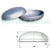 Заглушка оцинкованная стальная 89x3,5 мм ГОСТ 17379-01 фото