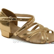 Туфли Плетенка ромб 2 Т306 Золото фото