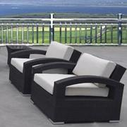 Кресло плетеное Арес LN-203 фото