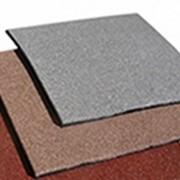 Квадратная однотонная плитка PlayMix без рисунка для балконов фото
