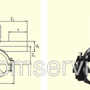 Вентиль для врезки с удлиненным патрубком DAV D90/63 фото