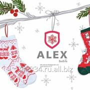Носки женские Alex новогодние фото