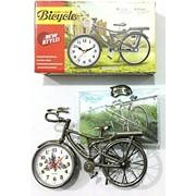 Фоторамка с часами Велосипед 10х15 фото
