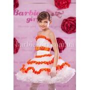 Нарядное детское платье 14-0042 фото