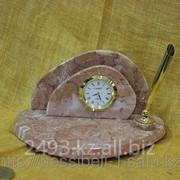 Настольные часы, органайзер фото
