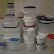 Пластиковая тара для рыбы, меда, фото