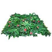 Трава искусственная MZ189001A MIX с красн.цветами фото