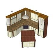 Заказ дизайн-проекта кухни фото