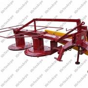 Роторная косилка двухдисковая КР-1,65 к трактору МТЗ 80/82, Т-40, Т-25, ЮМЗ-6 фото