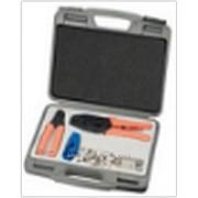 Набор инструментов для работы с коаксиальным кабелем SC&T AT009 фото