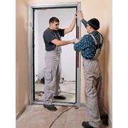 Установка деревянных, металических дверей фото