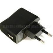 Зарядная вилка 220v/USB 5v фото
