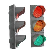 Светодиодный дорожный светофор фото