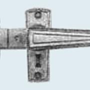 Защелка врезная с фалевыми ручками РФ5 фото