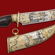 Нож Иван Калита 390*210*47*6 фото