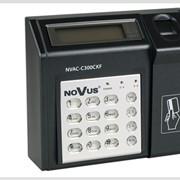 Многофункциональный контроллер NOVUS NVAC-C300CKF/L с интегрированным биометрическим считывателем, считывателем смарт-карт и клавиатурой фото